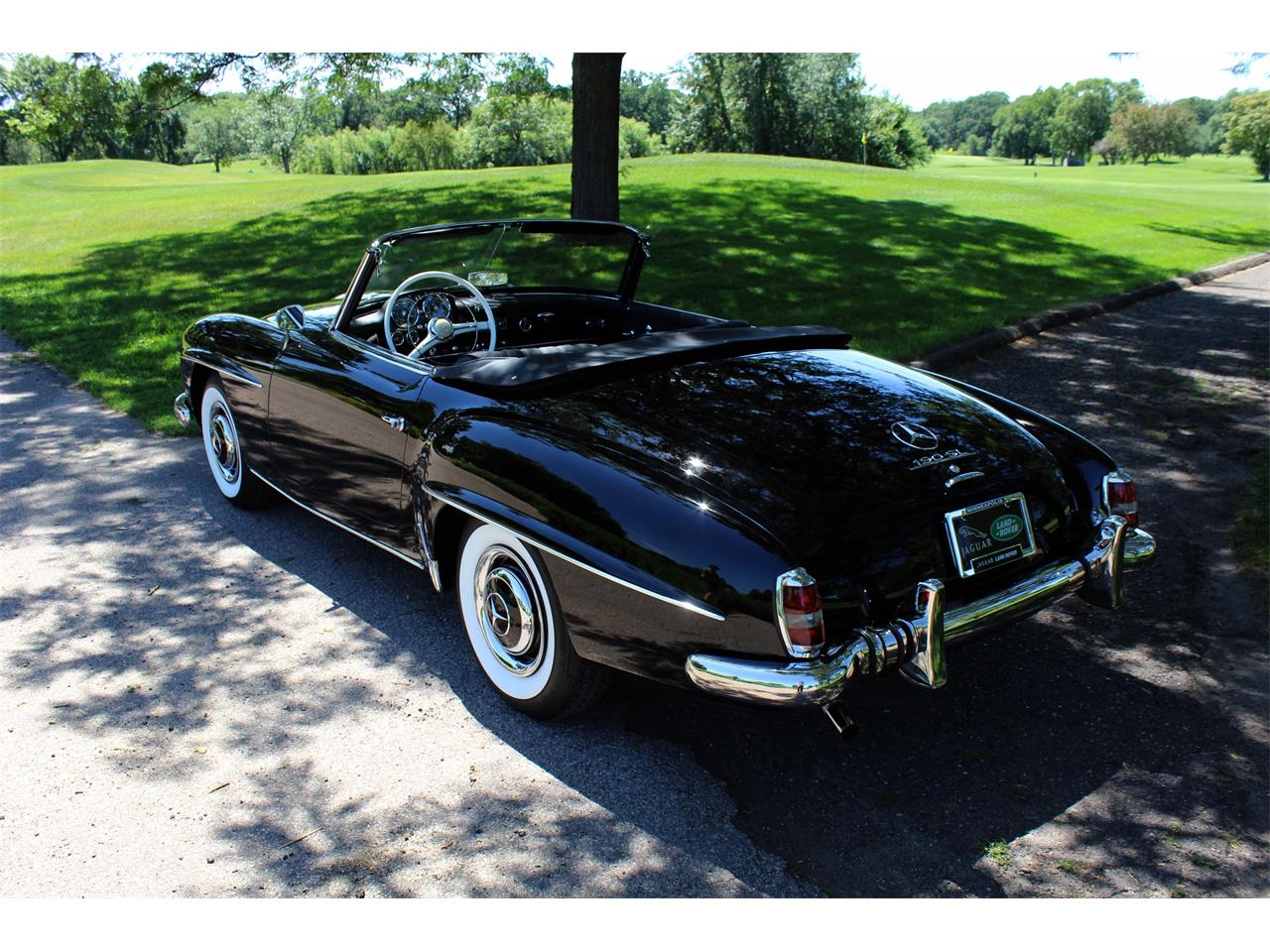 Large Picture of Classic 1960 190SL Offered by Jaguar Land Rover Minneapolis - NULS