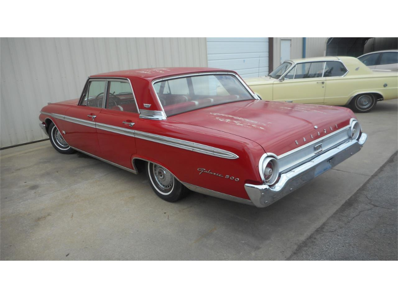 1962 ford galaxie 500 for sale cc 1113164. Black Bedroom Furniture Sets. Home Design Ideas