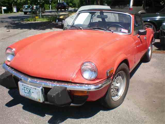 Picture of '76 Spitfire - NSQ5
