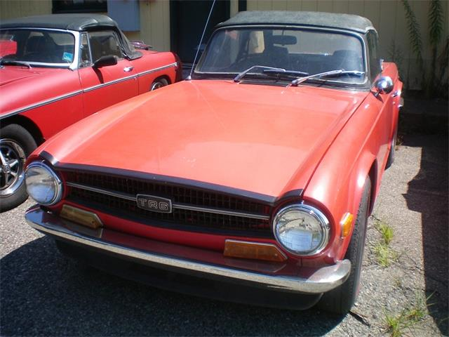 Picture of '72 TR6 - NSQH