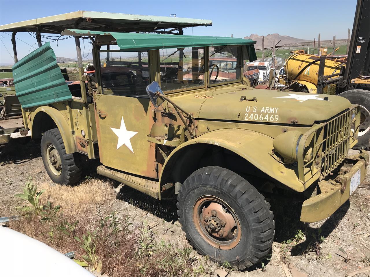 For Sale: 1951 Dodge M37 in TULELAKE, California
