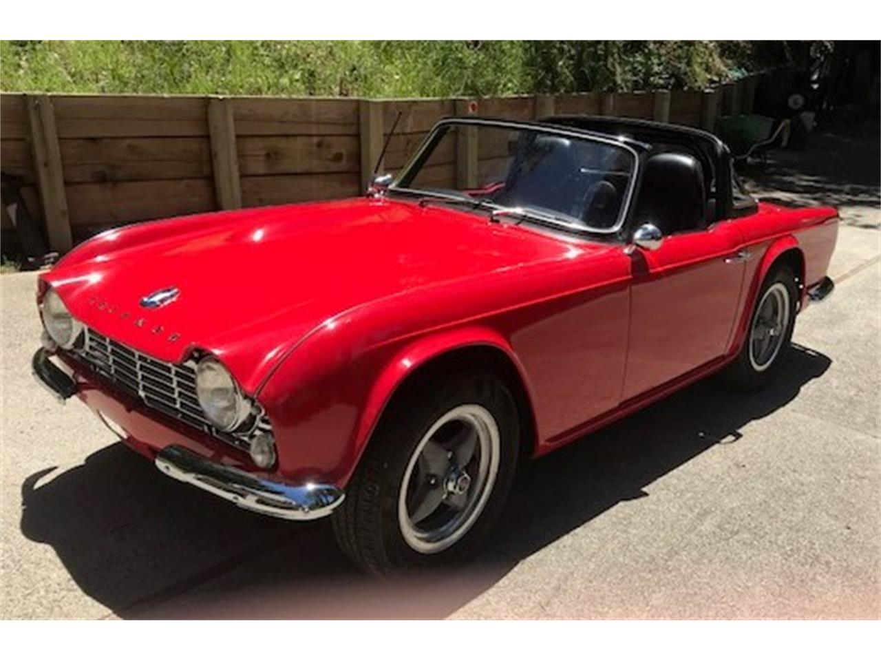 1965 triumph tr4 for sale cc 1110035. Black Bedroom Furniture Sets. Home Design Ideas