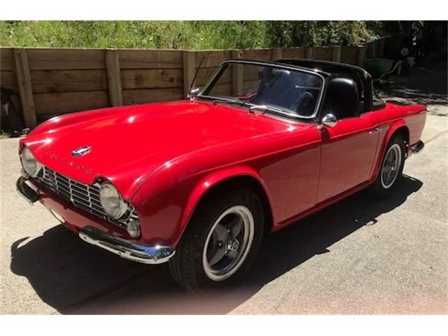 Picture of '65 TR4 located in California Offered by a Private Seller - NSIB