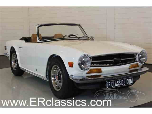 Picture of '72 TR6 - NVB8