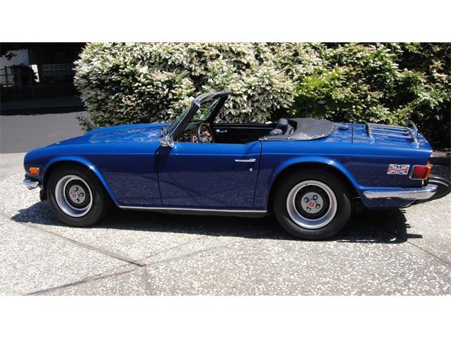 Picture of 1975 Triumph TR6 located in San Pablo California - NVD8
