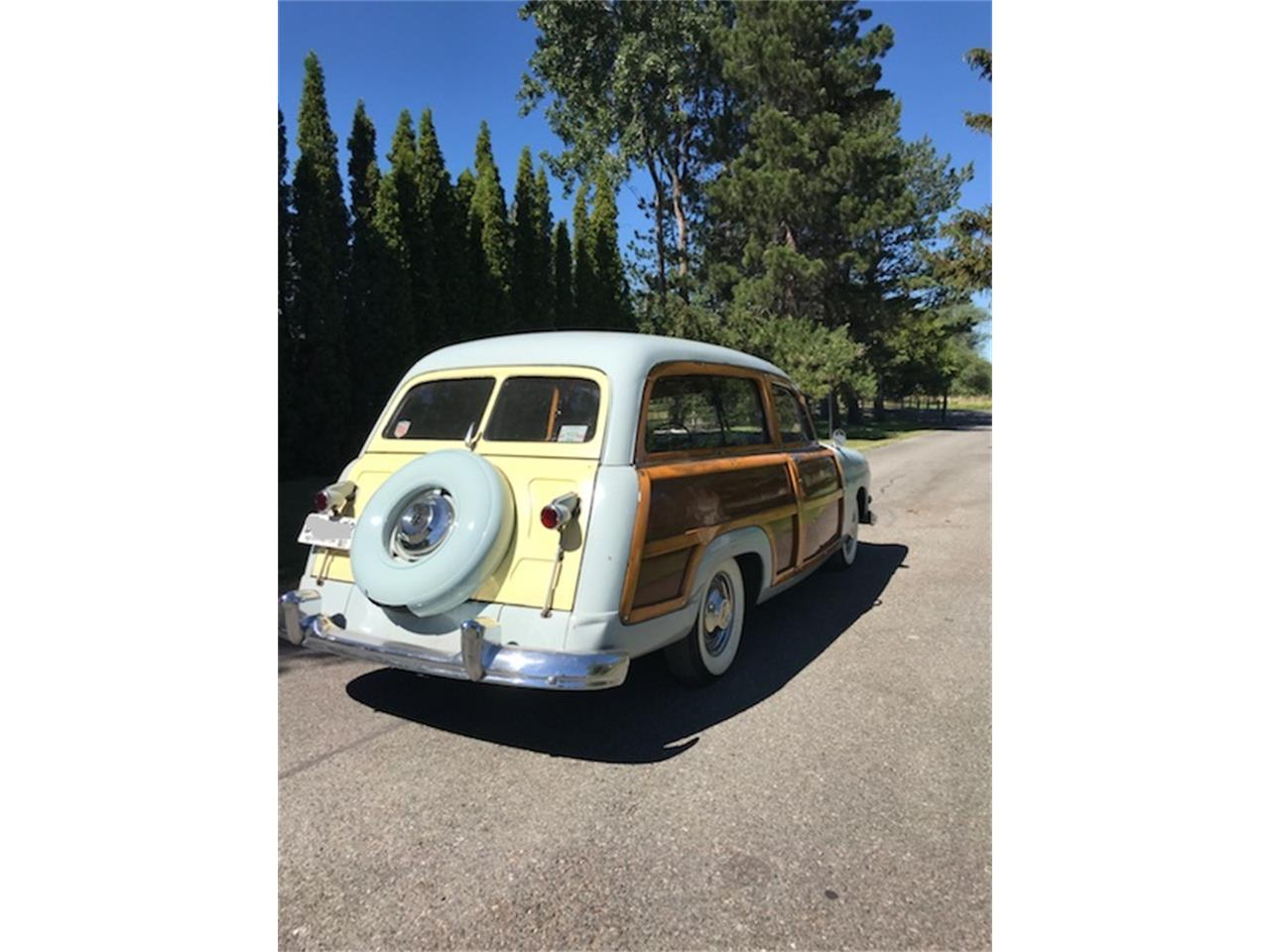 Large Picture of Classic 1951 Ford Woody Wagon - NVDW