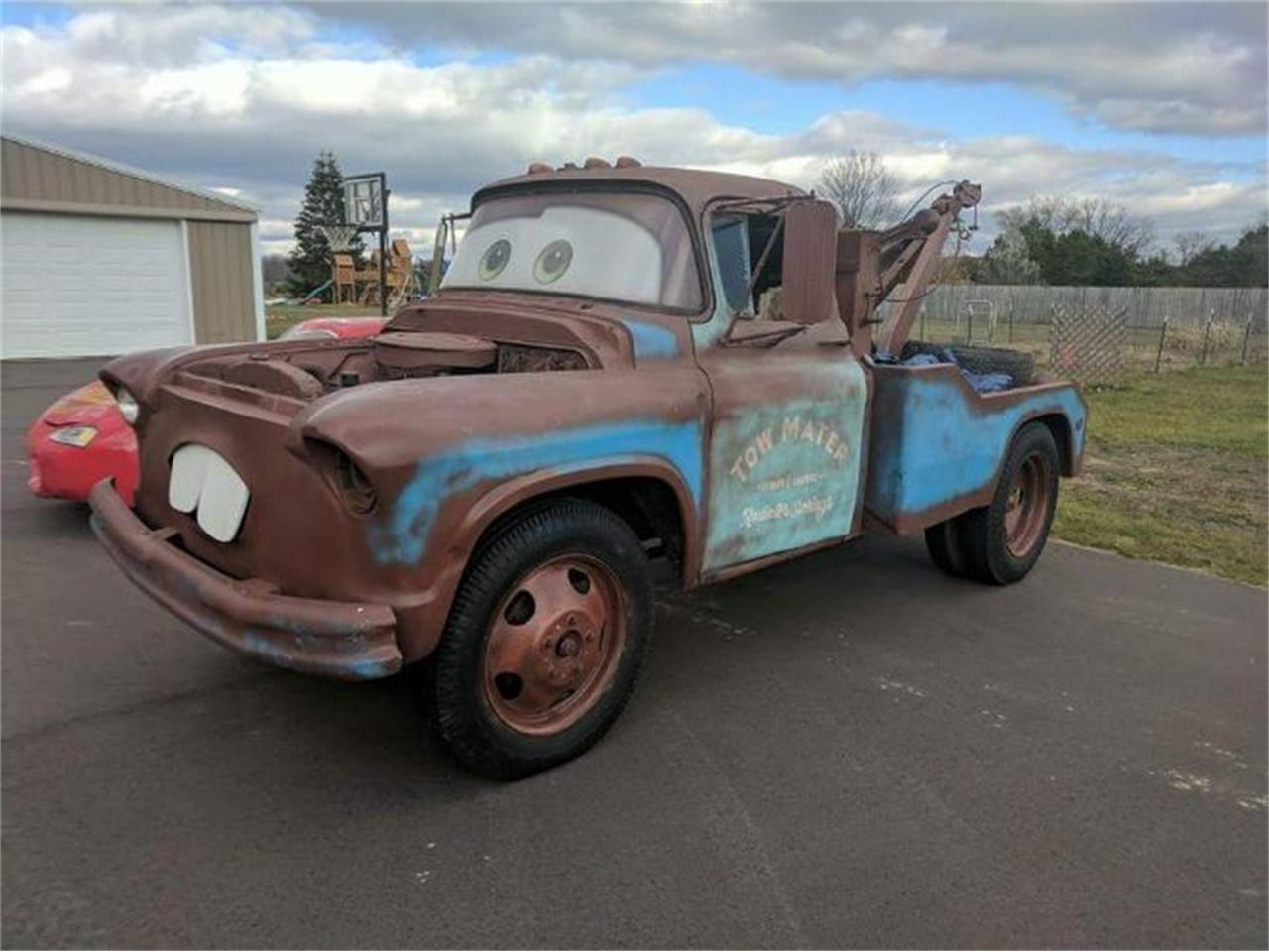 1957 Chevrolet Tow Truck For Sale Cc 1113822 Chevy Pickup Large Picture Of 57 Nvfi