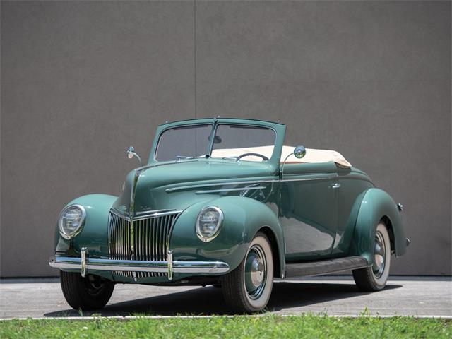Picture of '39 V-8 Deluxe Convertible Coupe - NVGI