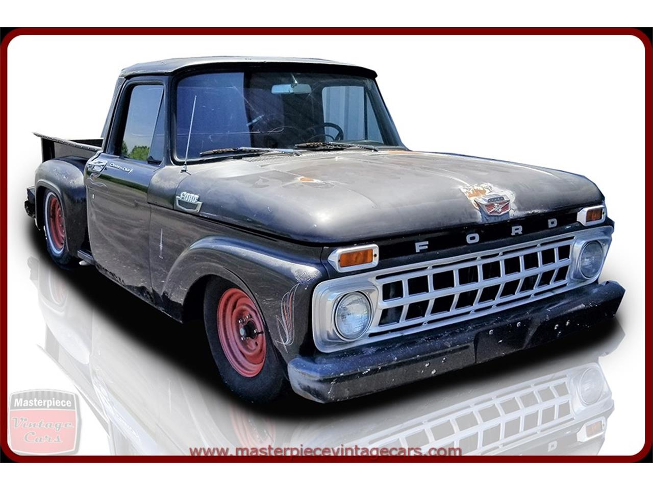 Large Picture of Classic '63 Ford F100 located in Indiana - NVI8