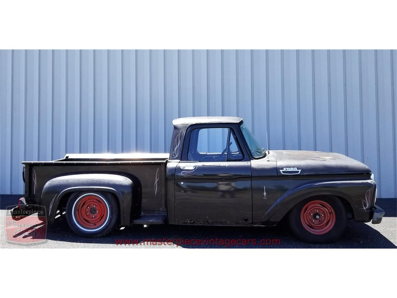 Large Picture of Classic '63 Ford F100 located in Whiteland Indiana - NVI8
