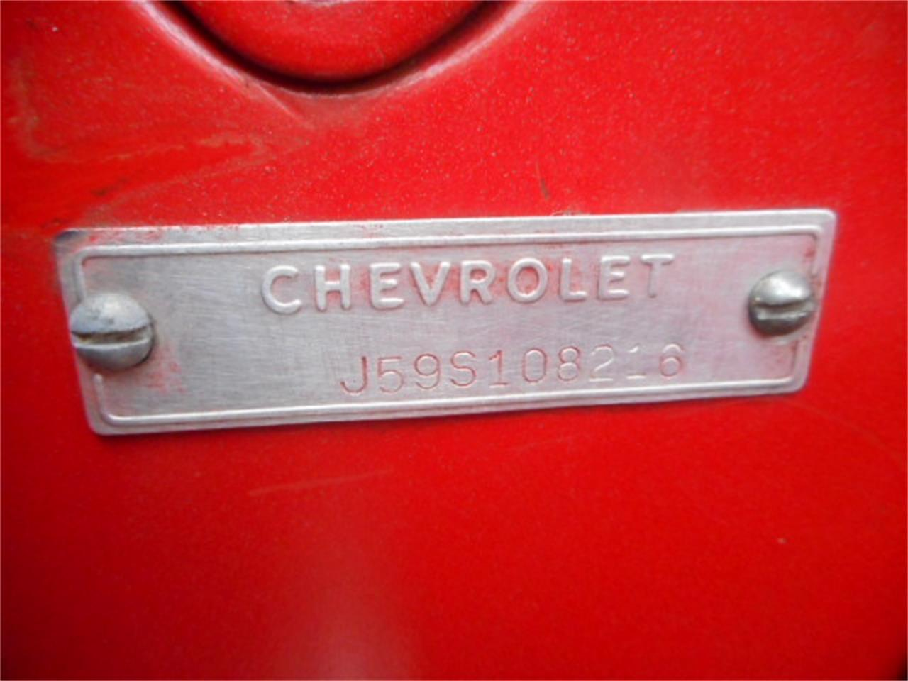 Large Picture of Classic '59 Chevrolet Corvette located in Wind Lake Wisconsin - $69,900.00 Offered by a Private Seller - NVRV