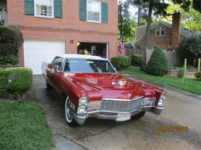 Picture of 1968 Cadillac Convertible located in Bethesda Maryland - NSTE
