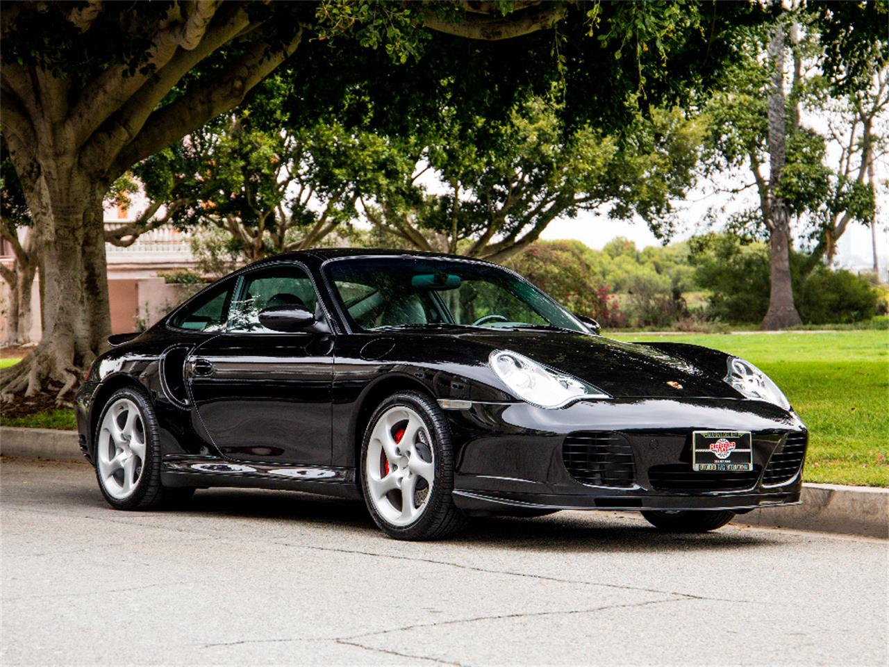 Large Picture of 2002 Porsche 911 Turbo located in Marina Del Rey California Offered by Chequered Flag International - NVVR