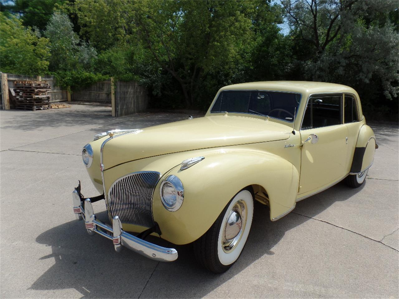 Large Picture of '41 Lincoln Continental located in Clinton Township Michigan - $39,900.00 Offered by Dream Cruise Classics - NSTR