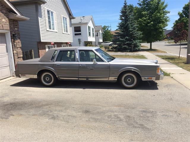 1989 Lincoln Town Car For Sale On Classiccars Com