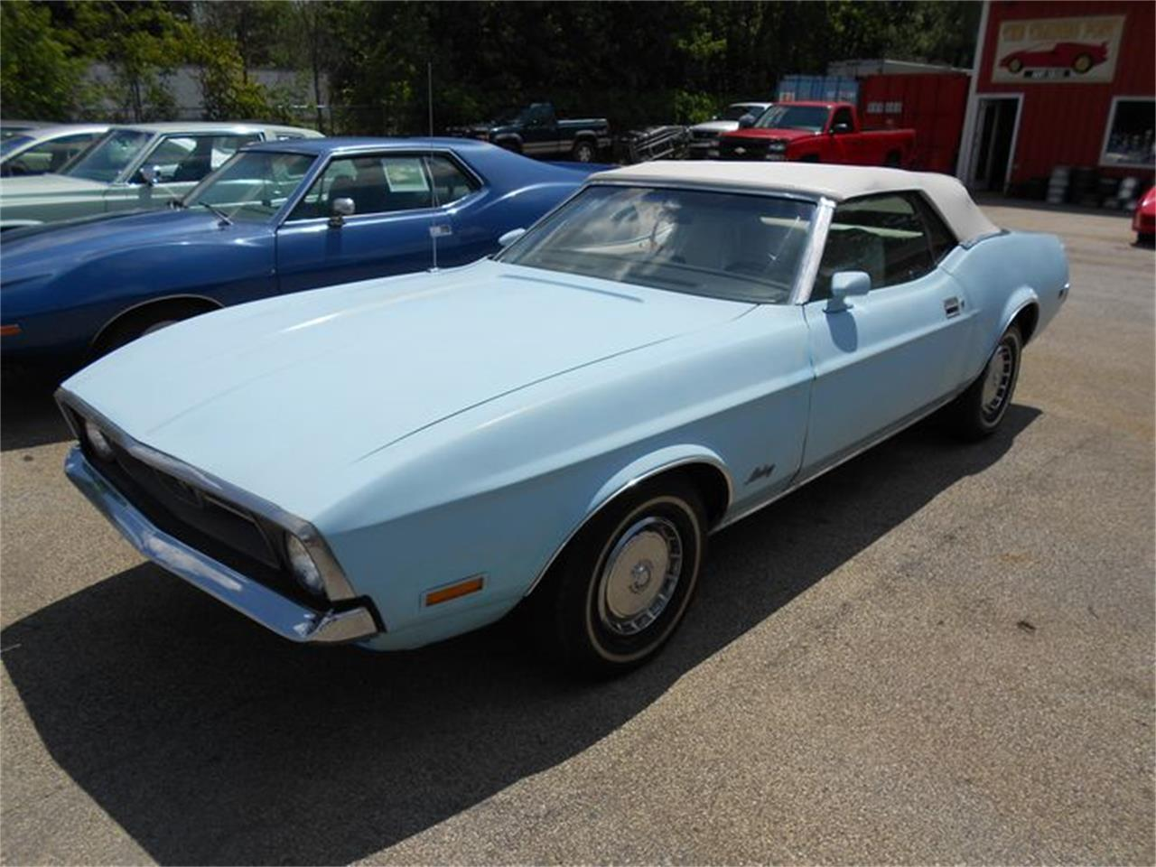 For Sale 1972 Ford Mustang In Cadillac Michigan