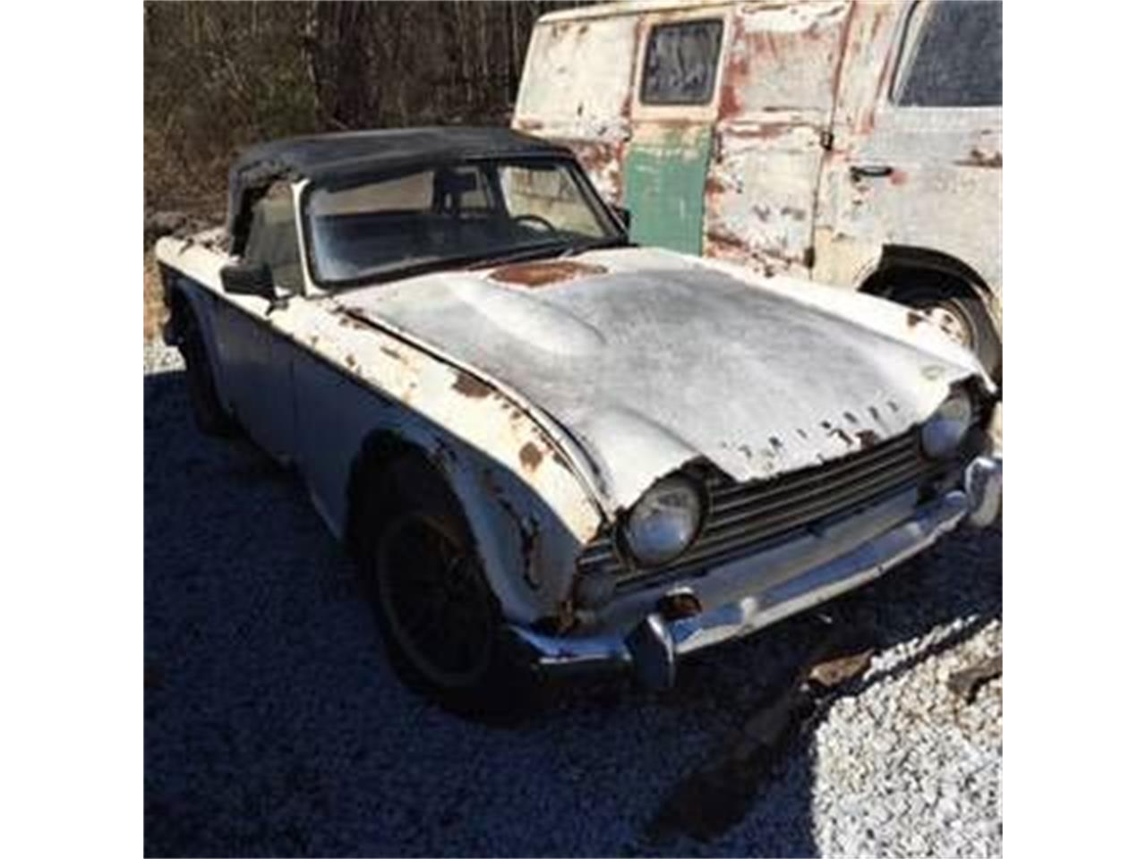 Large Picture of '66 TR4 - NWAR