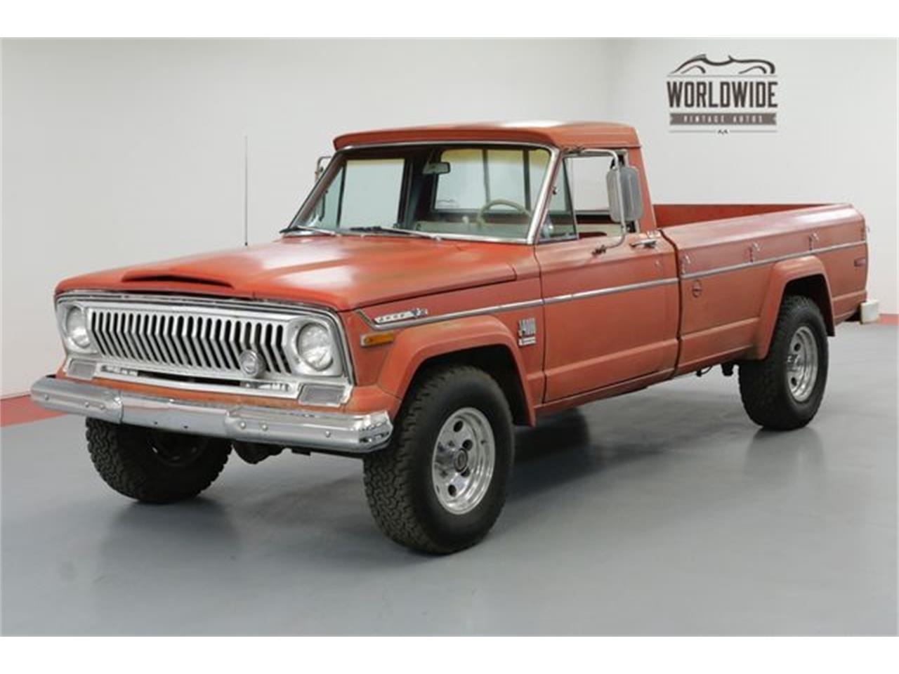 1972 jeep gladiator for sale cc 1110570. Black Bedroom Furniture Sets. Home Design Ideas