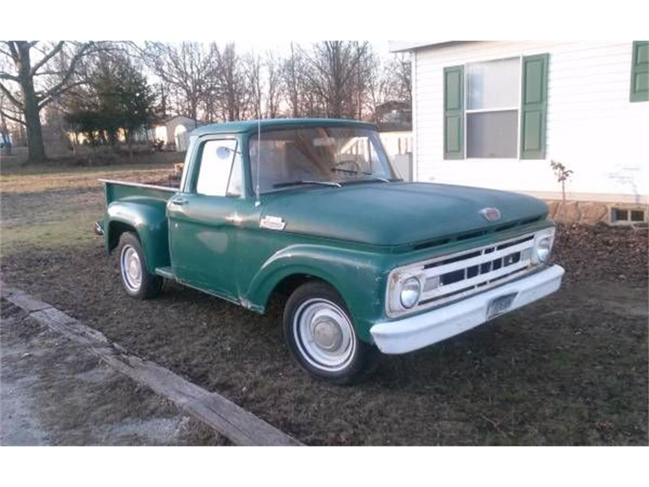 1961 ford f100 61 classic cc cadillac michigan listing engine financing inspection insurance transport classiccars