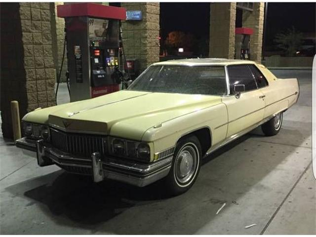 Picture of 1973 Cadillac Coupe DeVille - NXU2