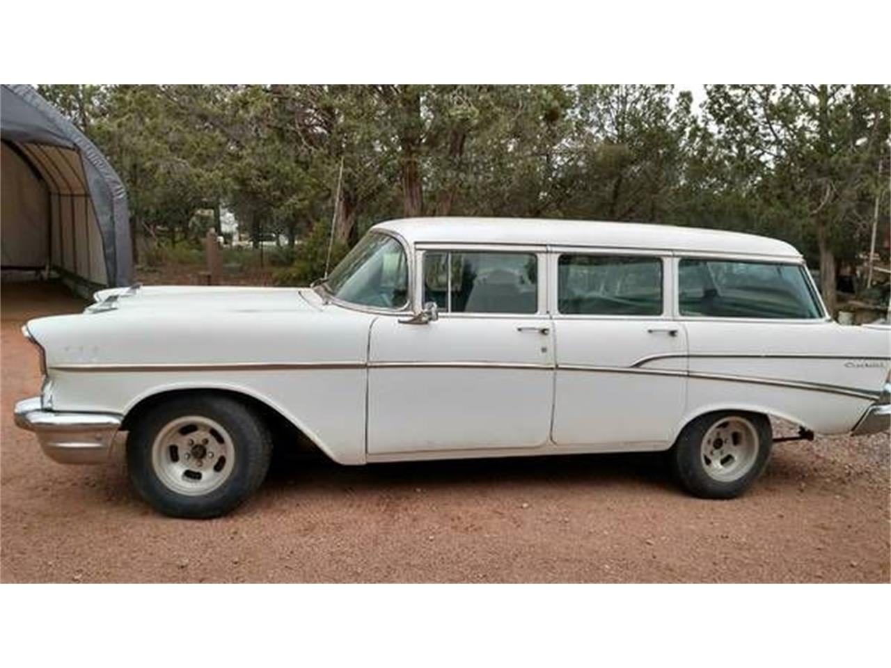 1957 Chevrolet Bel Air For Sale Cc 1117020 Chevy Station Wagon Large Picture Of 57 Nxwc