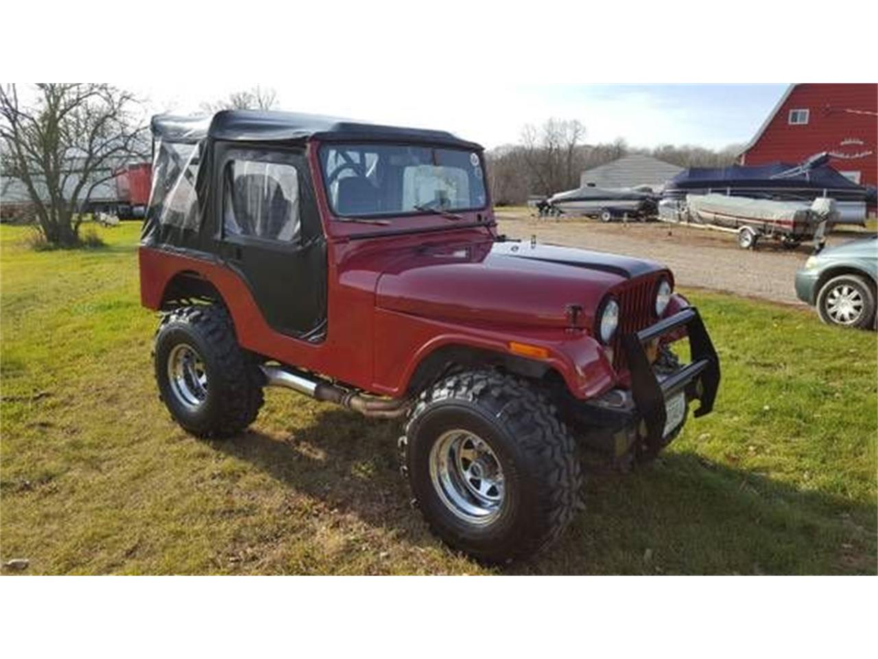 Large Picture of '73 CJ5 - NY6C