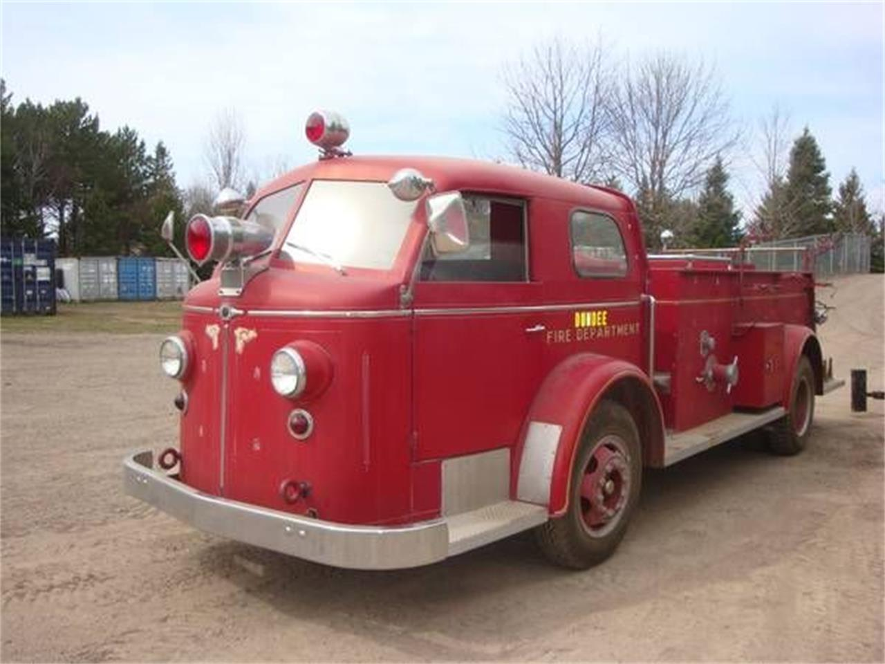 Large Picture of '51 Fire Engine - NY6V