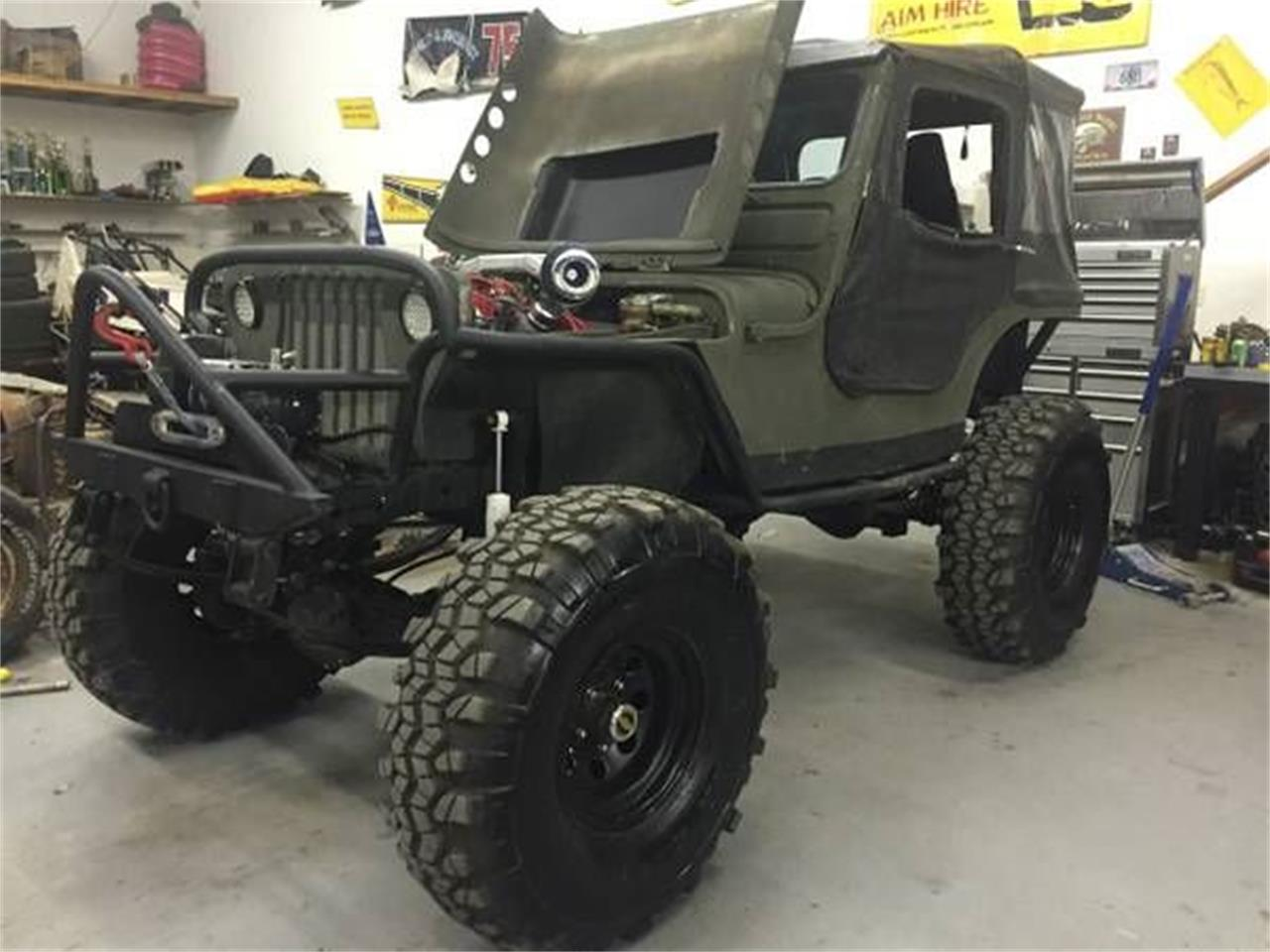 Large Picture of '48 Willys Jeep located in Cadillac Michigan Offered by Classic Car Deals - NYKV