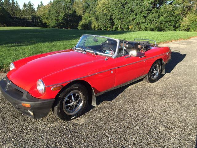 Picture of '76 MGB - NYM8