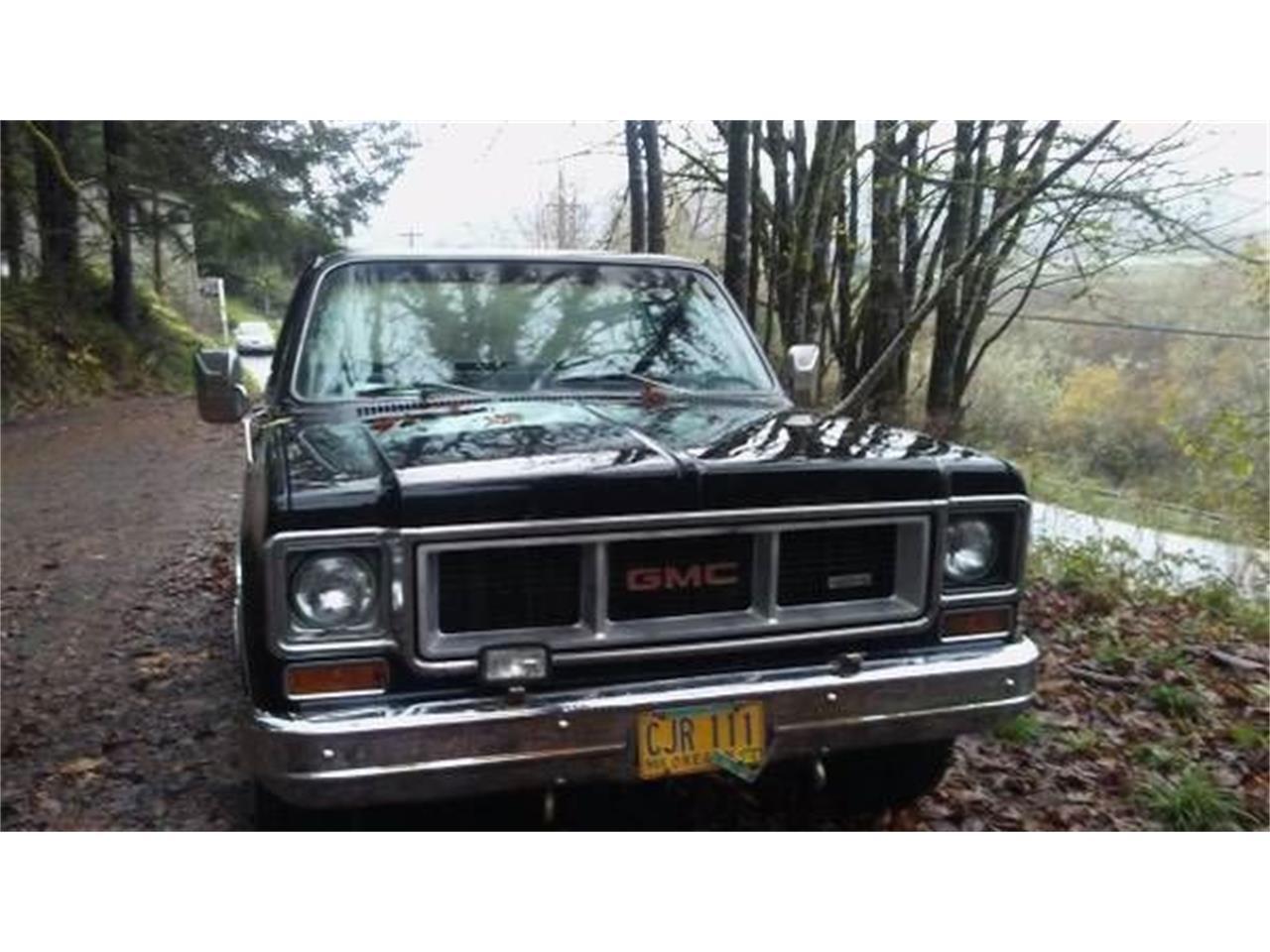 For Sale: 1974 GMC Sierra in Cadillac, Michigan