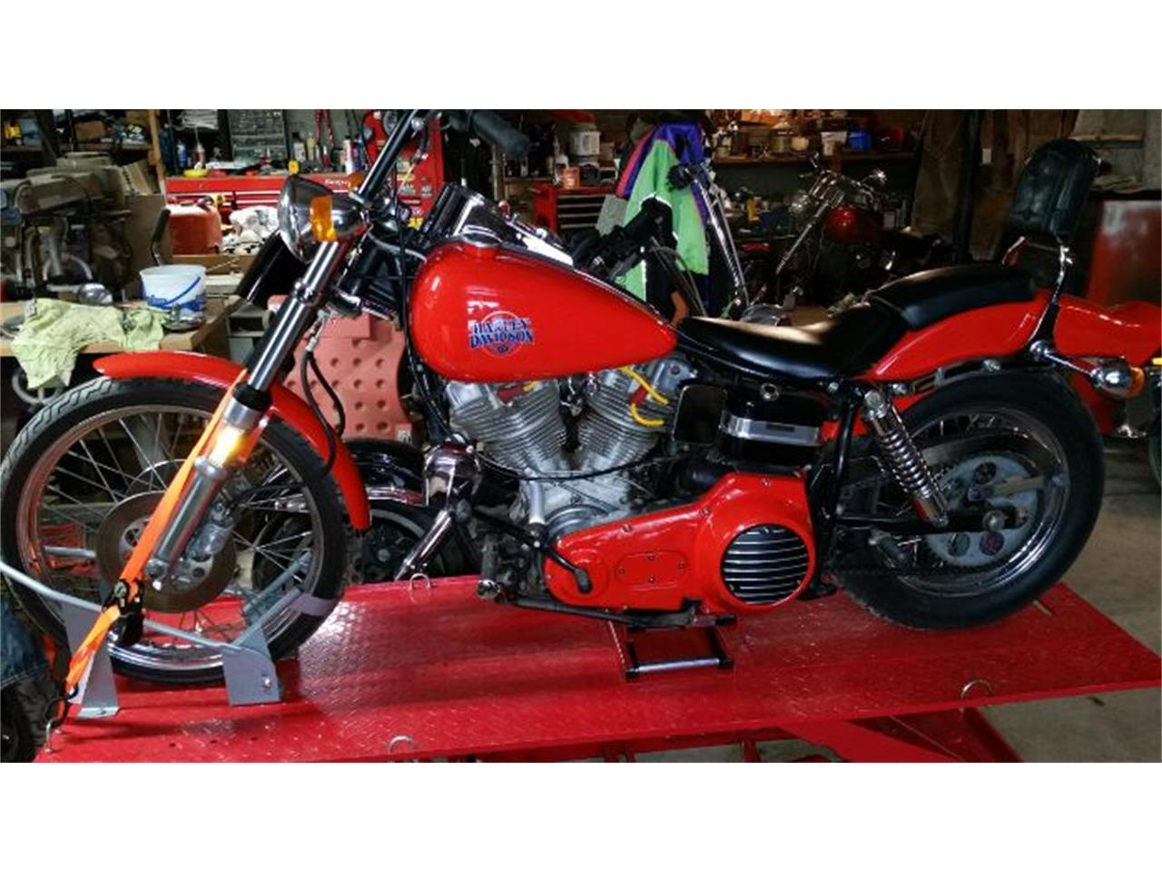 Large Picture of 1980 Harley-Davidson Wide Glide located in Michigan - $9,995.00 Offered by Classic Car Deals - NYW2
