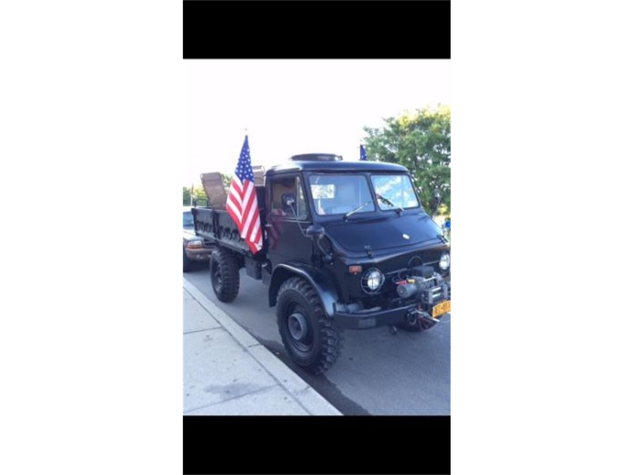Large Picture of '63 Unimog - NZ78