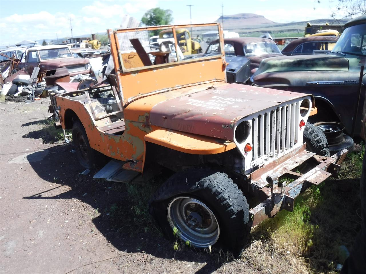1950 Willys Jeep For Sale Cc 1110885 Pick Up Large Picture Of 50 Nt5x