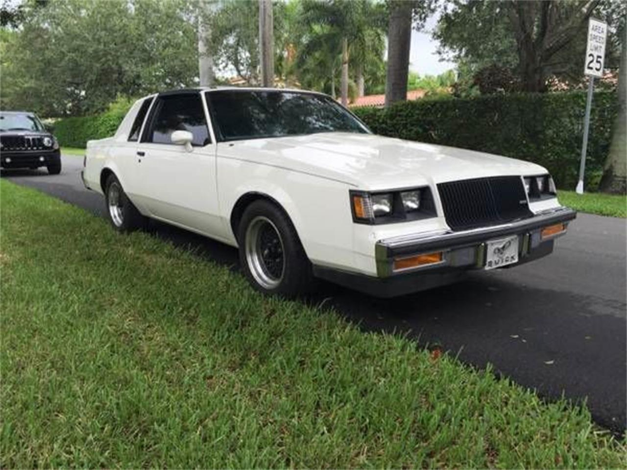 Buick T Type >> 1987 Buick T Type For Sale Classiccars Com Cc 1118954