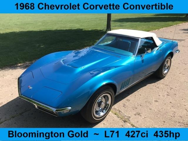 Picture of Classic '68 Chevrolet Corvette Offered by  - NT6Z