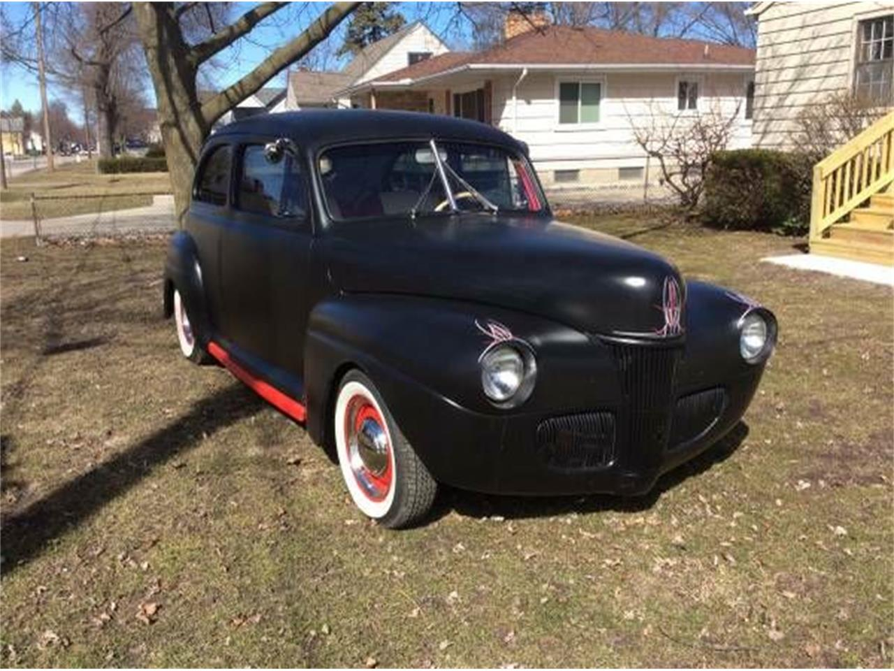 Large Picture of Classic 1941 Ford Tudor located in Michigan Offered by Classic Car Deals - NZXR