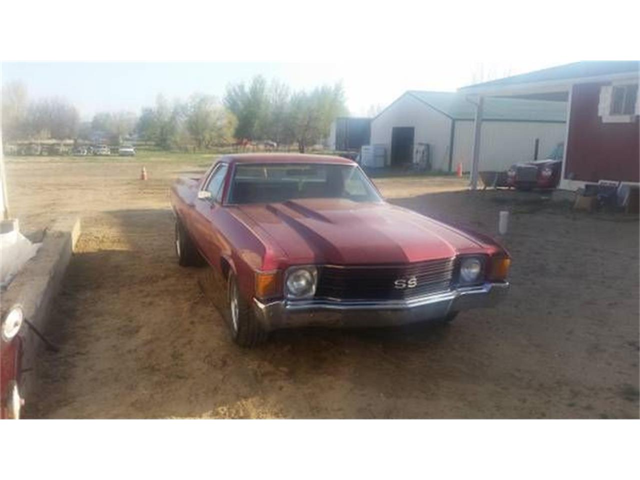 Large Picture of '72 El Camino - O00X