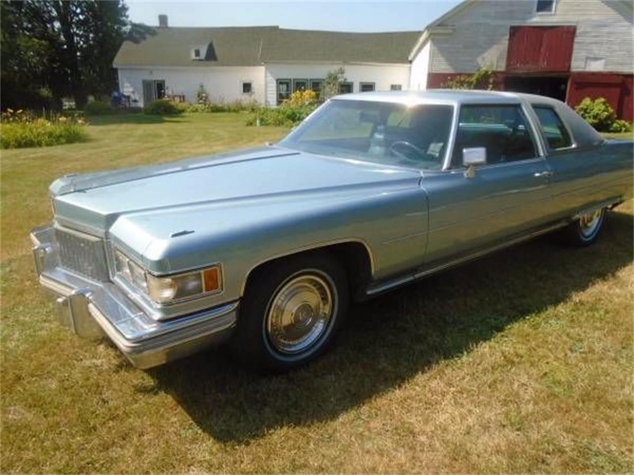 Large Picture of '75 Coupe DeVille - O105