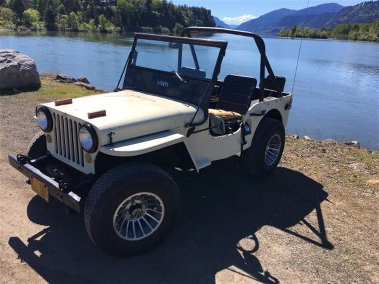 Jeep Willys For Sale >> 1948 Jeep Willys For Sale Classiccars Com Cc 1121504