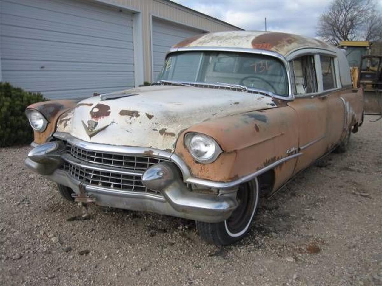 Ambulance For Sale >> 1955 Cadillac Ambulance For Sale Classiccars Com Cc 1121509
