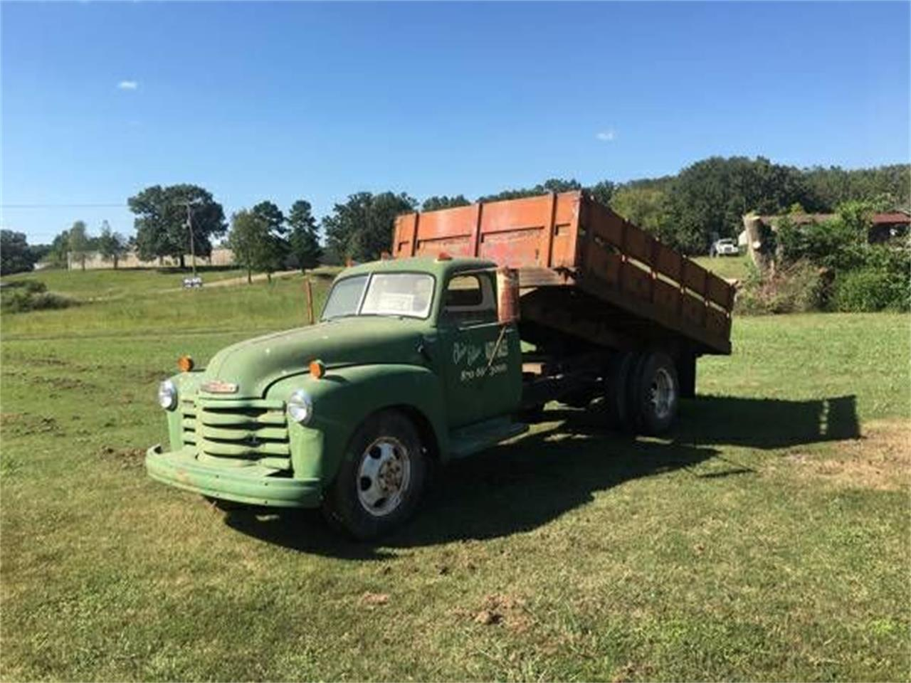 Large Picture of Classic 1949 Chevrolet Dump Truck - $6,895.00 Offered by Classic Car Deals - O1FH