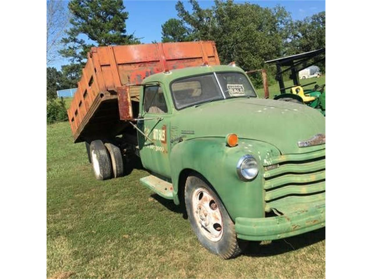 Large Picture of 1949 Chevrolet Dump Truck Offered by Classic Car Deals - O1FH