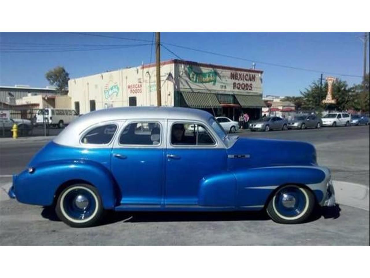 For Sale 1947 Chevrolet Fleetline In Cadillac Michigan