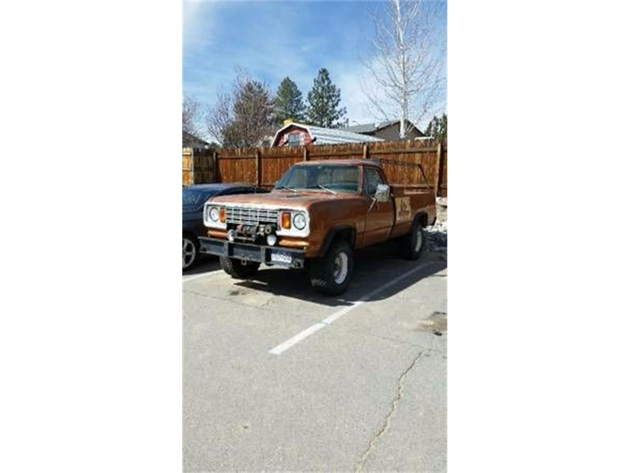 Large Picture of '78 Power Wagon - O1OP