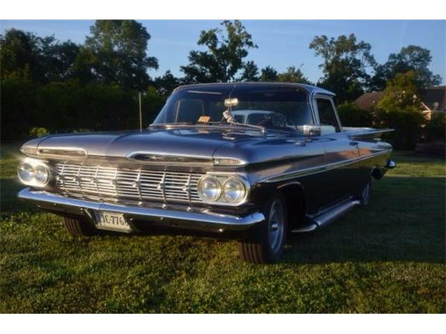 1959 Chevrolet El Camino For Sale On Classiccars Com