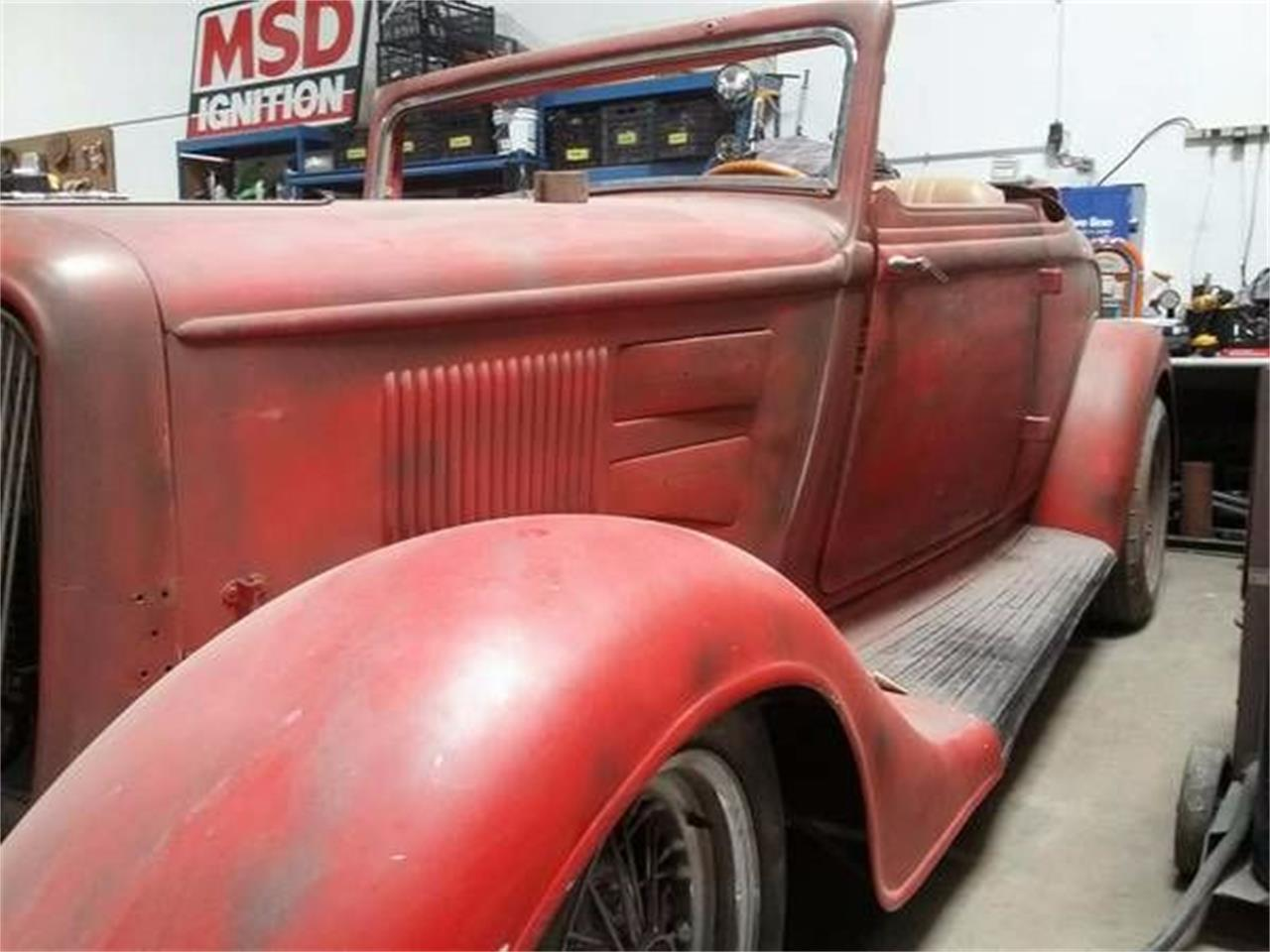 1934 Plymouth Coupe For Sale Cc 1122230 M715 Wiring Harness Large Picture Of Classic 34 Located In Cadillac Michigan 1499500 O1x2