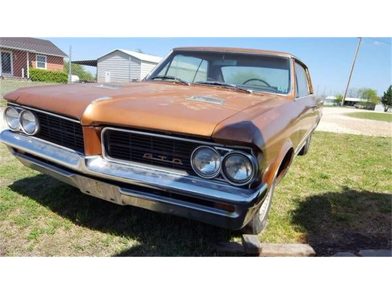 1964 Pontiac Gto For Sale Cc 1122427 1973 Project Car Large Picture Of 64 O22j