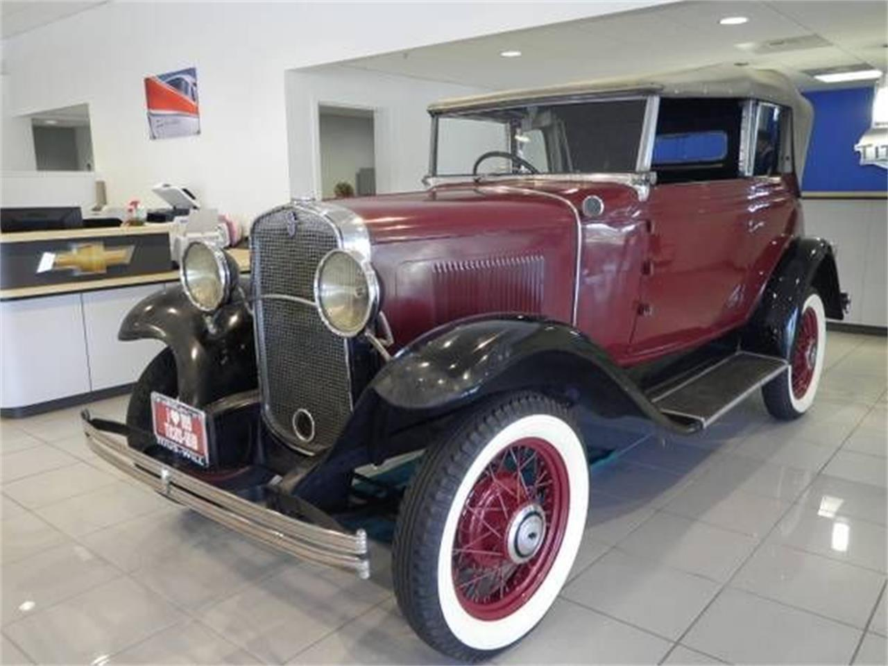 Large Picture of '31 Chevrolet Antique Offered by Classic Car Deals - O2K6