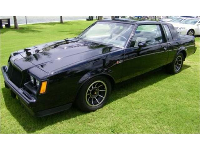1985 to 1987 Buick Grand National for Sale on ClassicCars.com