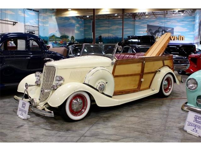 Picture of '34 Woody Wagon - O2MN